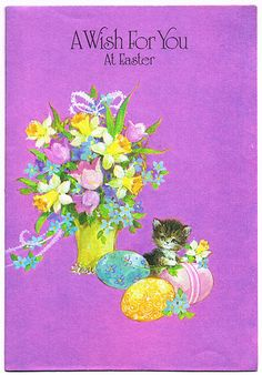 A Wish For You at Easter | inside: Hope it's happy in every … | Flickr