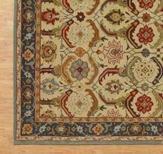 Brand New Pottery Barn Eva 8 X 10 Persian Style Woolen Area Rug Carpet Traditionalpersianoriental