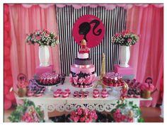 Festa provençal  decoração festas em brasilia  decoração provençal e rústica temas cenários Provençais brasilia Barbie Birthday Party, Barbie Party, 7th Birthday, Birthday Parties, Barbie Theme, Barbie Cake, Barbie Dolls, Ladybug 1st Birthdays, Party Themes