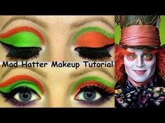 The Mad Hatter Makeup Tutorial! - YouTube                                                                                                                                                                                 More
