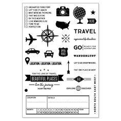 Stamps: Wanderlust