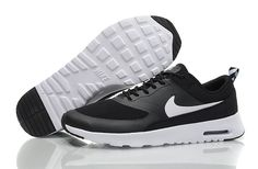 Nike Air Max Thea Mens Black White Trainers UK