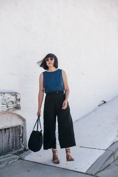 calivintage - wearing the Chiara pant