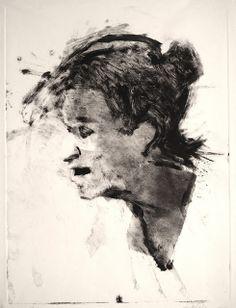 Frank Hobbs: monotype, 11 x 9 in.