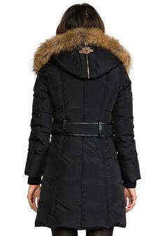 MACKAGE Trish Lavish Down Coat in Black at Revolve Clothing - Free Shipping!