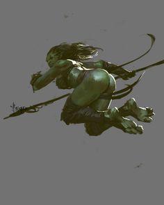 ArtStation - Ms.Orc- Autumn Memories, Bayard Wu