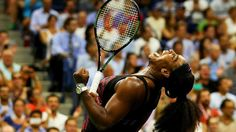 Serena Williams overcame her sister Venus at the US Open to move within two victories of her first calendar Grand Slam.The world number one held her nerve to win 6-2 1-6 6-3 and reach the semi-finals in New York.Serena, 33, will play unseeded Italian Roberta Vinci in the last four on Thurs