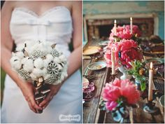 Cotton and gems.   by Dixie Pixel and Whimsical Gatherings