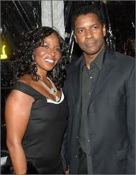 Denzel and his wife Paulette of many many years....