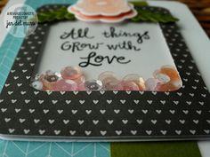Reverse Confetti | Shaker Card Detail
