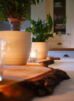 Rustic meets modern - a natural edge to a bright, clean home.  #modern #bright #homedecor #natural