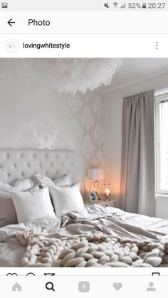 Need the blanket Dream Rooms, Dream Bedroom, Home Bedroom, Bedroom Decor, Home Decoracion, Sweet Home, Living Room Grey, Home Decor Furniture, New Room