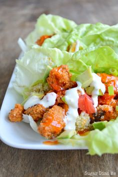 Life can always use more buffalo sauce. Get the recipe from Sugar Dish Me.   - Delish.com