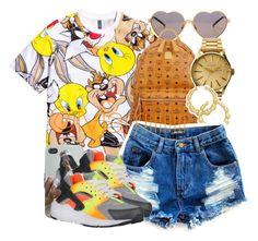"""""""Pick #1"""" by trill-forlife ❤ liked on Polyvore featuring Wildfox, MCM, Nixon, Thalia Sodi, NIKE and Sterling Essentials"""