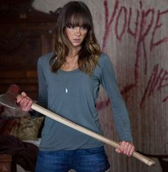 """Sharni Vinson as Erin in """"You're Next"""" (2011)"""