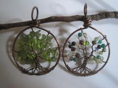Tree of Life...I made them much larger for Christmas ornaments last year.