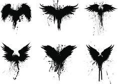 Body Art Tattoos, Tribal Tattoos, Sleeve Tattoos, Black Crow Tattoos, Tattoo Sketches, Tattoo Drawings, Corvo Tattoo, Rabe Tattoo, Hanya Tattoo