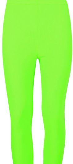 bb0c1e0aed6e9d Three Quarter Womens Plain 3/4 Leggings Ladies Gym Pants Parrot Green XXXL  16-