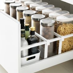 Küche MAXIMERA drawer high white Your Style, Your Budget Tired of ogling the latest styles in brand Ikea Kitchen Drawer Organization, Ikea Drawer Organizer, Ikea Kitchen Drawers, Ikea Drawers, Ikea Kitchen Cabinets, Kitchen Storage, Kitchen Tops, Diy Kitchen, Kitchen Interior