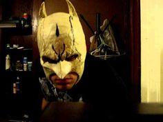 Making a Dark Knight Batman Mask test