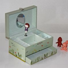 music box | Trousselier musical jewellery box - trousselier jewelry box | Petit ...