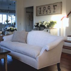 decorating wing  wingback chairs  camelback settee  sofa