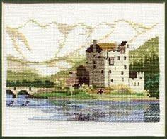 Eilean Donan Castle: Cross stitch (Derwentwater Designs, 14DD302)