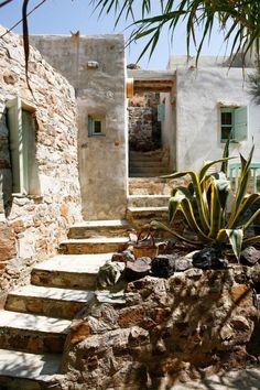 Country house in Serifos Island, Aegean Sea, Greece.