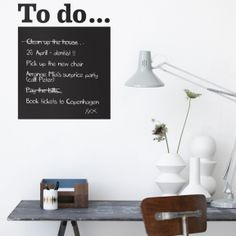 To Do wall stickers by Ferm Living
