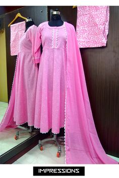 Dresses With Sleeves, Long Sleeve, Pink, Fashion, Moda, Sleeve Dresses, La Mode, Gowns With Sleeves, Hot Pink