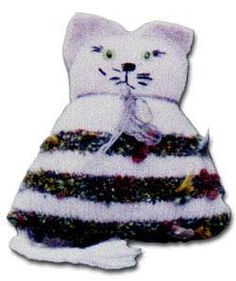 Any-yarn Toy Cat - free pattern