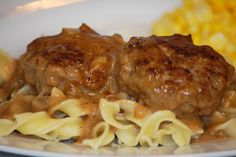 A Peaceful Dwelling: Meatballs & Gravy (and Crepes for Shrove Tuesday)