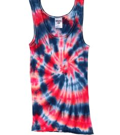 Love this tie dye technique idea from @penny shima glanz Harrington Create - perfect for a Fourth of July celebration!
