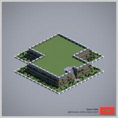 2017 World-o-Walls (Redux) Minecraft Building Designs, Minecraft Images, Minecraft Wall, Minecraft Structures, Minecraft Castle, Minecraft Funny, Minecraft Plans, Amazing Minecraft, Minecraft Tutorial
