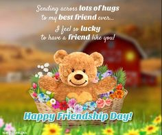 This #FriendshipDay thank a #friend who's always been there to help