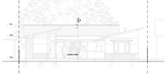South Coast Weekender additions, Currarong NSW on Behance 50 Years Old, Weekender, Steel Frame, Pavilion, Coastal, Floor Plans, Behance, Cottage, Architecture