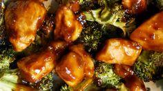Gebackenes Huhn von General Tso (Sub-Tapioka-Mehl & Ananassaft) - Meals - chicken Clean Eating Recipes, Diet Recipes, Healthy Eating, Cooking Recipes, Healthy Recipes, Tasty Meals, Chicken Recipes, Healthy Meals, Group Recipes