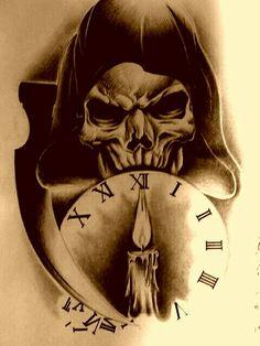 Skull drawings for tattoo - tattoos ideas drawings of . - Skull drawings for tattoo tattoos ideas Drawings of … – Skull Tattoo Designs – - Skull Tattoo Design, Skull Tattoos, Body Art Tattoos, Tattoo Designs, Tattoo Ideas, Grim Reaper Art, Grim Reaper Tattoo, Stencils Tatuagem, Tattoo Stencils