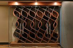 Custom Wine Cellar by Genuwine Cellars