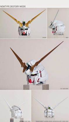 Painted Build: PG 1/60 RX-0 Unicorn Gundam - Gundam Kits Collection News and Reviews Gundam Wing, Gundam Art, Unicorn Gundam, Gundam Custom Build, Gundam Model, Animation, Painting, Scribe, News