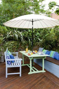 Garden Furniture On Decking