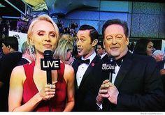 """Joseph Gordon-Levitt Oscars photobomb. This is why he's great."""