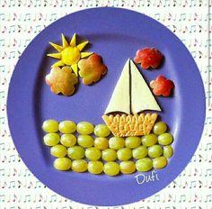 ✌︎♡ Ƒɍɛɛ Ȓåṇġɛ ǤĬɍŀ ♡✌︎ facebook.com/amyboyerofficial freerangegirl.com Cute Snacks, Fun Snacks For Kids, Cute Food, Toddler Meals, Kids Meals, Finger Foods For Kids, Food Art For Kids, Childrens Meals, Creative Food Art