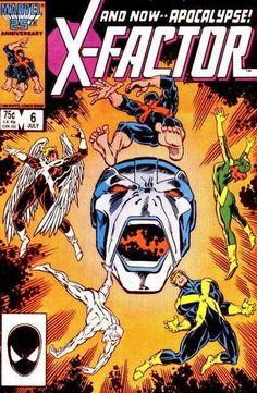 X-Factor #6 - Apocalypse Now! (Issue)