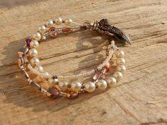 Pearl boho bracelet
