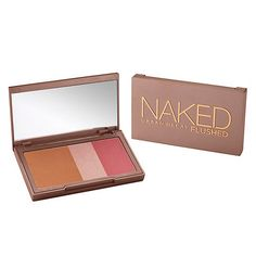 Urban Decay Naked Flushed- Blush, Bronzer, & Highlighter