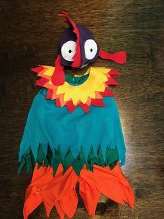 Moana Hei Hei HeiHei Rooster/Chicken Costume for Infants