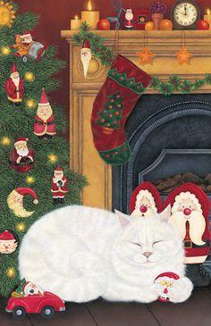 Santa's Toys...Anne Mortimer