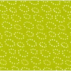 Stof House Designer - Pure - Dotted Rings in Lime
