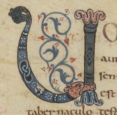 Pentateuque Date d'édition : 801-900-  ENLUMINURE CAROLINGIENNE 1) BASES 1.1 Cadre, 8: En Francie occidentale, à la mort de LOUIS LE FAINEANT en 987, la royauté passe de HUGUES CAPET, et donc à la dynastie des Capétiens. L'apogée de l'art carolingien est atteint dans l'ensemble du domaine Franc vers la fin du 9°s, et les quelques ouvrages de moindre importances sont rattachés à d'anciennes traditions.